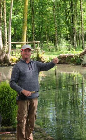 Enjoy a spot of fishing